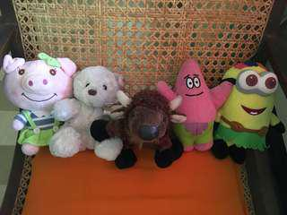 Stuffed toys bundle