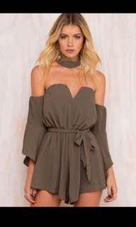 Princess Polly East Bay Night Playsuit