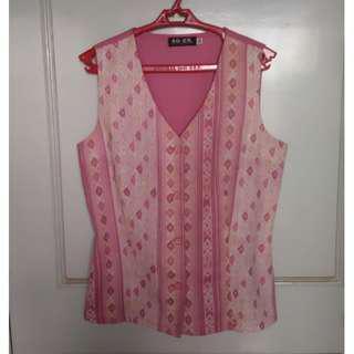 So-en, Pink Patterned Vest