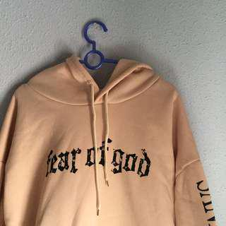Hoodie Fear Of God Ulzzang