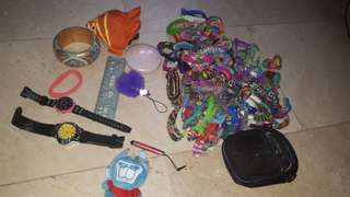 Take all loombands and everything in photo