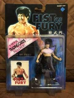 全新 港版 李小龍 Bruce Lee 龍爭虎鬥 Fist of Fury 精武門 死亡遊戲 Figure 大膠 景品