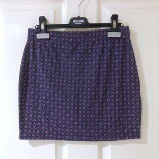 (Size XS/S) Mini Bodycon Skirt