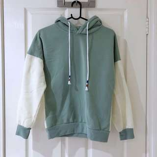 (Size XS/S) Colour Block Hoodie