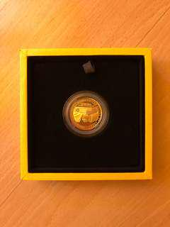 1/2 oz Gold Coin - USA DPRK Summit in SG 2018