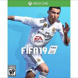 Preorder FIFA 19 Xbox one R3 Asia region FIFA19