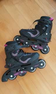 Roller blades oxelo size 38