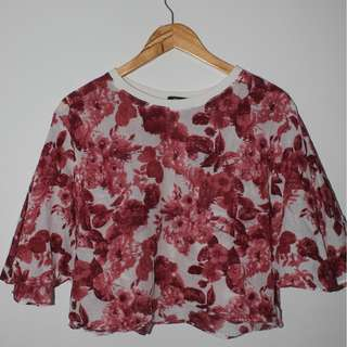 Dee Cropped Flare Top