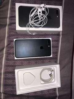 Iphone 7 plus 128gb black fullset