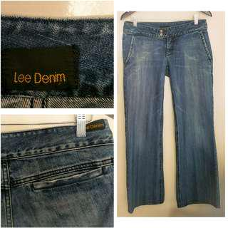 Lee Wide Leg Jeans 10