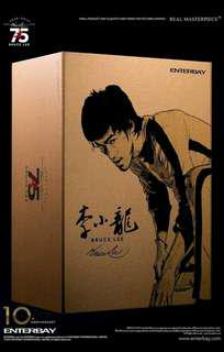Set of 2 ENTERBAY 1/6 Bruce Lee 75th Anniversary Ver. Action Figure With Mr.Han hot toys