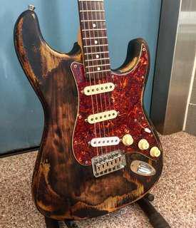 Relic guitar services