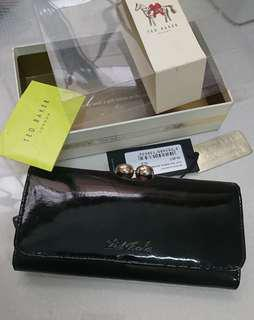 Ted baker patent wallet dompet