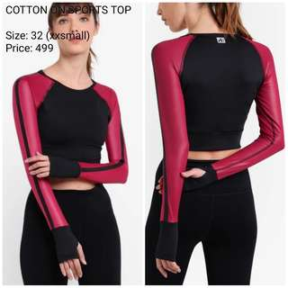 COTTON ON SPORTS TOP