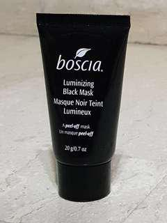 Boscia Luminising black mask Masque Noir Teint Lumineux (peel off mask) sample size, travel size, gift size