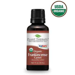 Organic Frankincense carteri Essential Oil 30ml/PLANT THERAPY (IN STOCKS!!!)