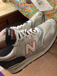 元朗交收減 100 New Balance 997 us 10 made in USA