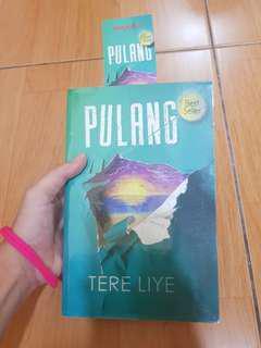 Buku Novel Tereliye 'Pulang'