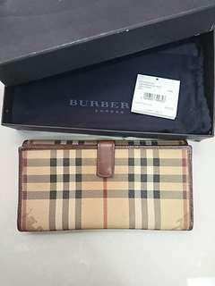 Burberry continental dompet wallet