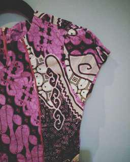 🎉🎉Reprice Batik Dress Cantik