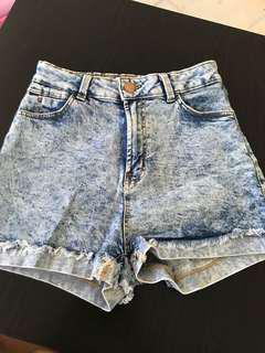 2 bershka High Waisted Shorts