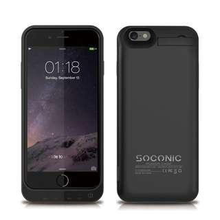 5800mAh iPhone 8 / 7 / 6S / 6 Battery Case - Black