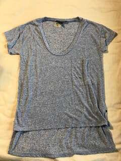 Victoria's Secret Blue Shirt