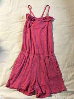 Gap Pink Romper Dress for Kids