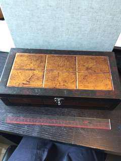 復古盒金色