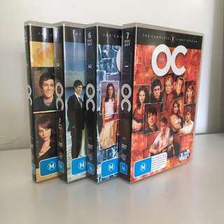 The OC Seasons 1, 2, 3 And 4
