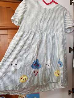 🚚 超可愛日系雲朵上衣/a la sha Dailo 風格#九月女裝半價