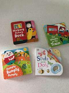 🚚 Baby PlayBooks - 4 titles