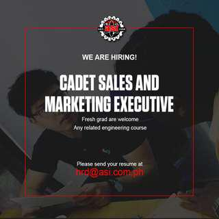 Cadet Sales Engr.