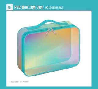Wanna One Summer Package Hologram Bag
