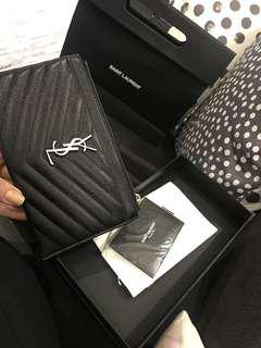 BRAND NEW YSL Clutch/wallet leather