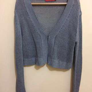 Grey Cardigan 'Come' Size M