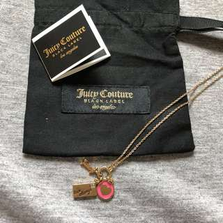 Juicy Couture Black Label Necklace +dust bag 頸巾連塵袋
