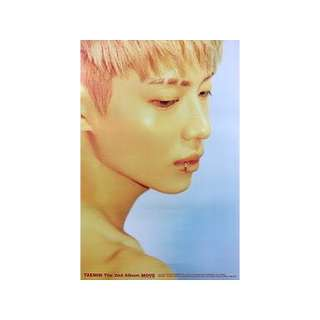 TAEMIN SHINEE - MOVE OFFICIAL POSTER