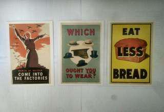 British war poster postcards