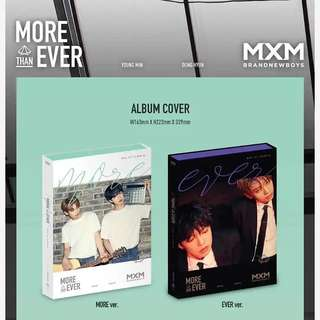 MXM 1ST ALBUM - MORE THAN EVER