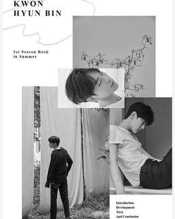 KWON HYUNBIN (JBJ) 1ST SEASON BOOK IN SUMMER