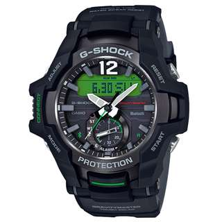 CASIO G-SHOCK GRAVITYMASTER series GR-B100 GR-B100-1A3 黑綠 BLUETOOTH 藍牙連線 GSHOCK GRB100
