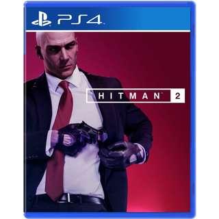 (預訂) PS4 Hitman 2 (行版, 中文/英文) - 刺客任務2 殺手 暗殺 射擊遊戲 槍game