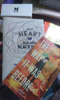 Pop Fiction & My Heart and Other Black Holes (150 for 2 books)