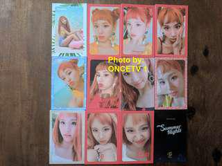 """TWICE Chaeyoung """"Summer Nights"""" Photocards Set"""
