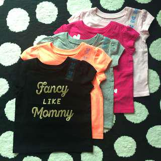 Baby Girls Tee (6-9Months) $35/one OR $125/5
