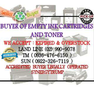 Easy Money Fast Transaction Buyer of Empty Ink Cartridges and Toners 0935 657 7440