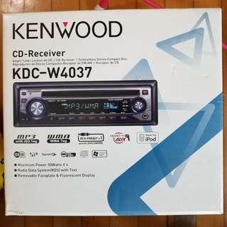 Kenwood KDC-W4037 汽車 音響