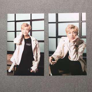 BTS X Mediheal RM Photo Card