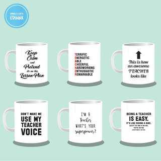 Teachers Day Mug - with name print